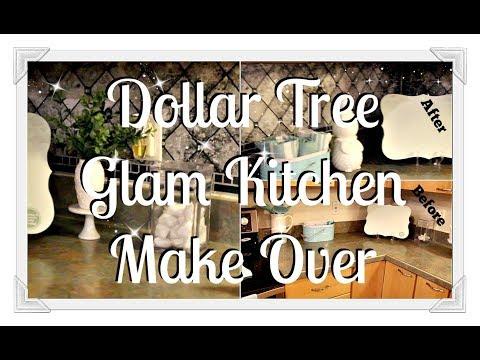 💎DIY Dollar Tree Back Splash|| 💎Bonus Small Haul💎