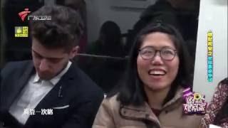 Subway sleeper prank in China 2016