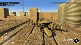 Professional Sniper Elite III Multiplayer Gameplay
