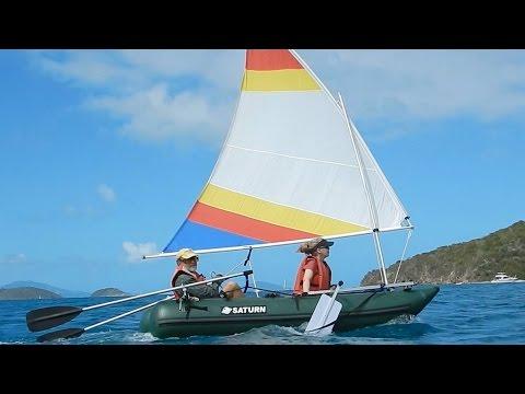 SailboatsToGo.com Nanocat Inflatable Sailboat