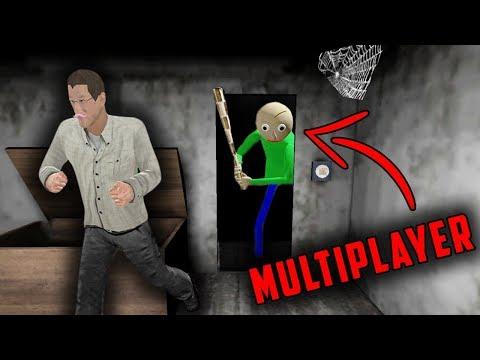 Baldi's Basics in Granny Horror Game MULTIPLAYER! (Baldi's Basics vs Granny Mobile Horror Game)