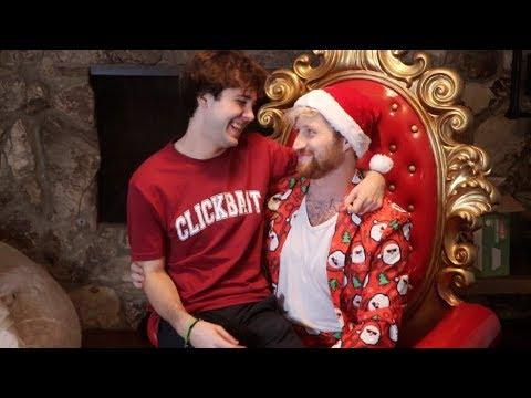 SURPRISING DAVID WITH PRANK CHRISTMAS GIFT!!