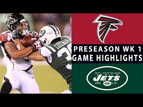 Falcons vs Jets Highlights  NFL 2018 Preseason Week 1
