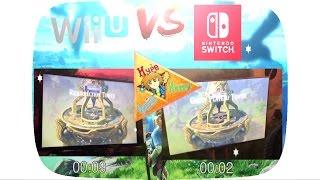 LOADING TIMES Nintendo Switch VS Wii U ★ Zelda Breath of the Wild #Cardridges