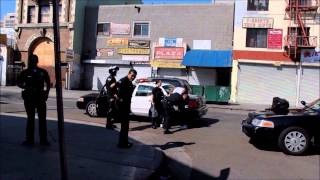 Robbery Suspect Captured By Police At Gunpoint In DTLA