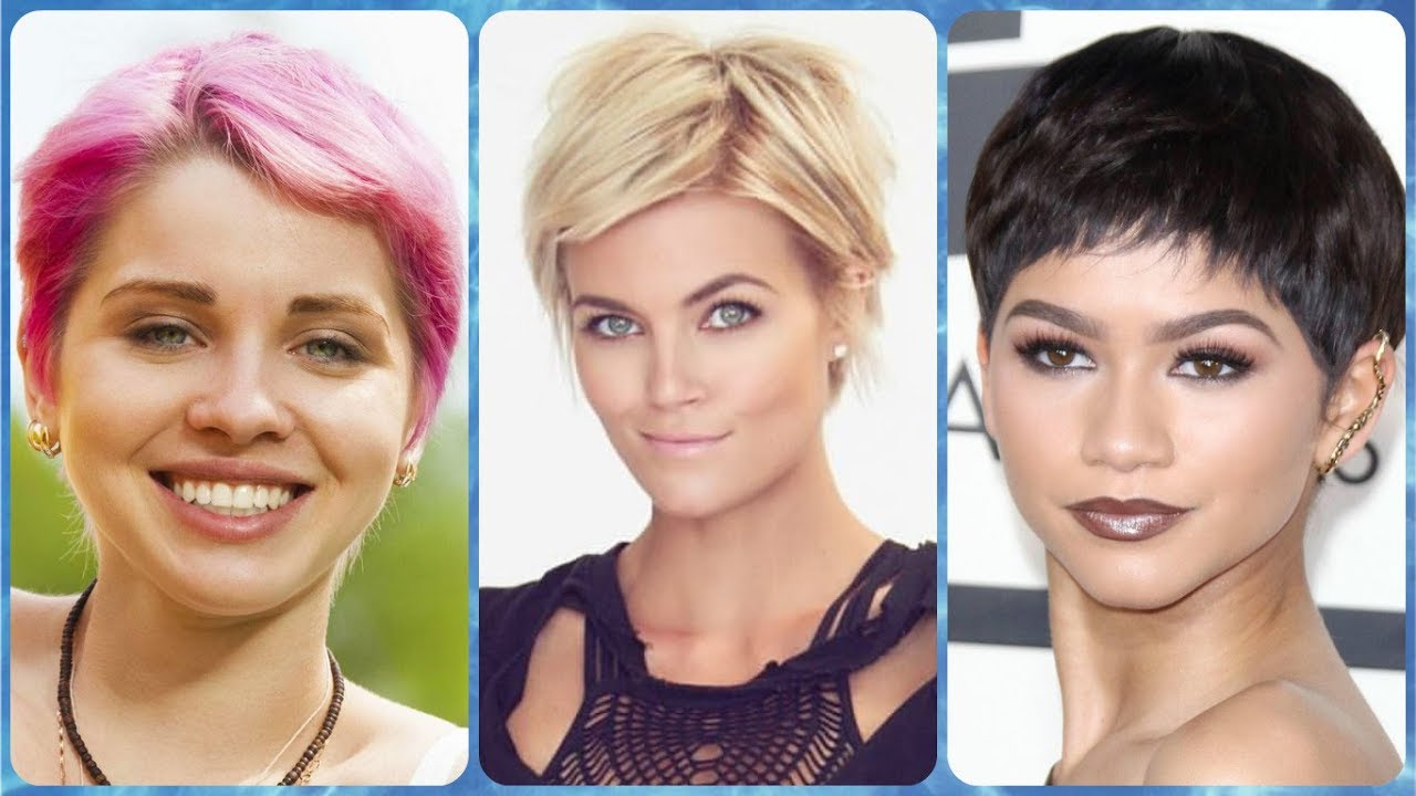 Unsere Top 20 Kurzhaarfrisuren Damen Rundes Gesicht Youtube