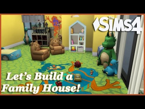 The Sims 4 - Let's build a Family House (Part 7) Realtime