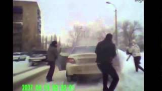 Смешные тёлки за рулем, авто видео приколы июнь 2013