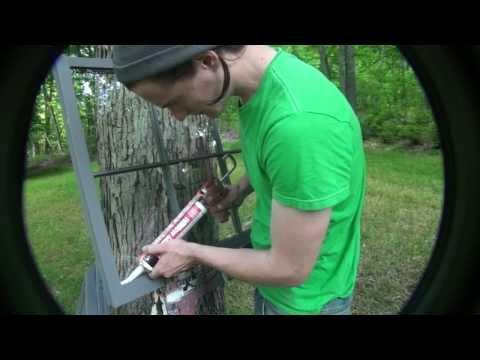 How to glaze a window sash with Dap Latex Window Glazing