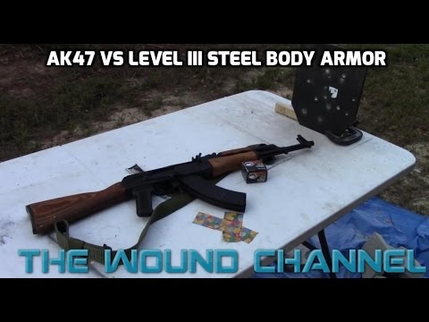 Speaking, would ak 47 steel plate penetration share your