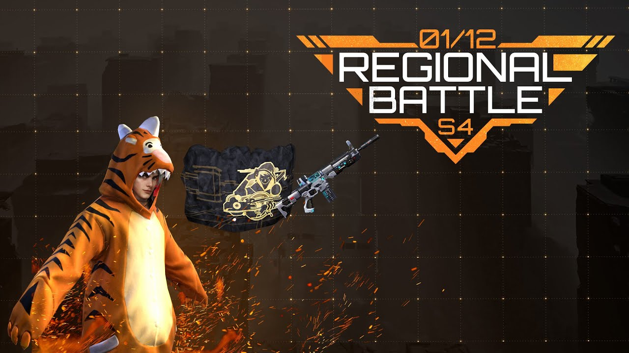 Regional Battle Season 4 Tutorial | Garena Free Fire