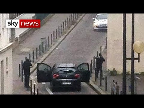 New Video Of Paris Gunmen During Charlie Hebdo Attack