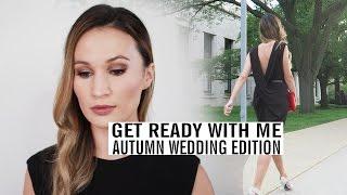 GRWM: Autumn Wedding | Makeup & Outfit | ttsandra thumbnail