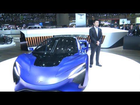 First Chinese Supercar Debuts at Geneva Auto Show