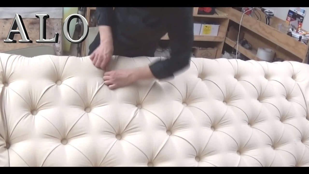 Diy How To Upholster A Tufted Headboard Laura L Alo Upholstery