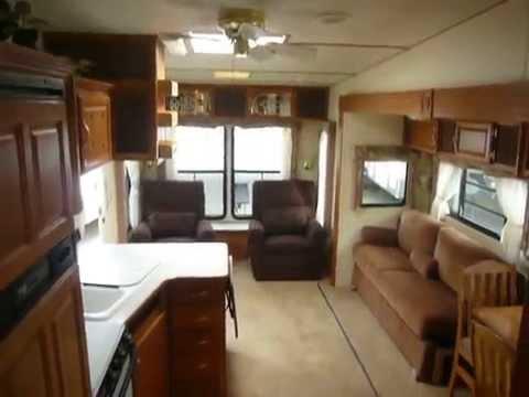 2002 Komfort 29 5th Wheel Trailer Youtube