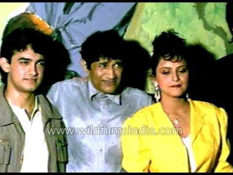 Download Dev Anand directs much younger Aamir Khan and cast of film Awwal number