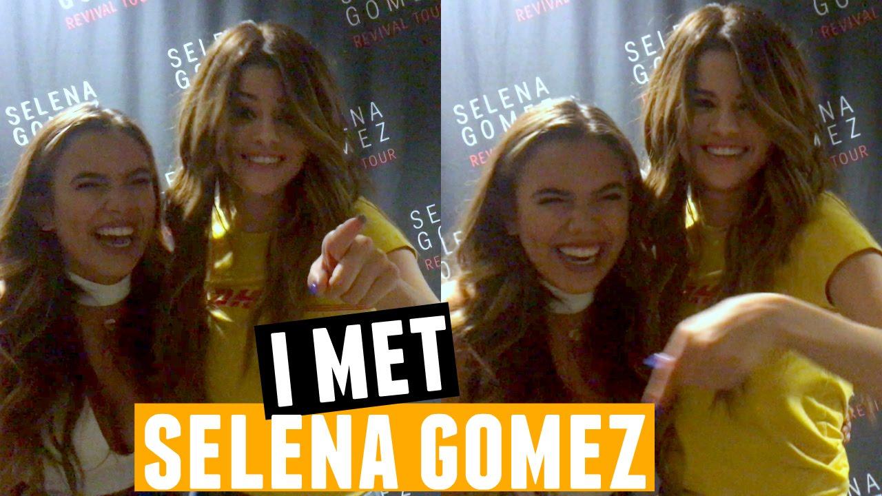 I met selena gomez youtube kristyandbryce Choice Image