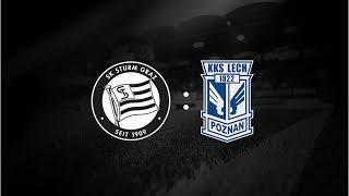 Spielaufzeichnung: Sturm Graz 2:1 Lech Posen (1:0)