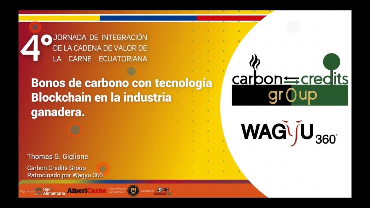 Bonos de Carbono con tecnología Blockchain en la industria ganadera.