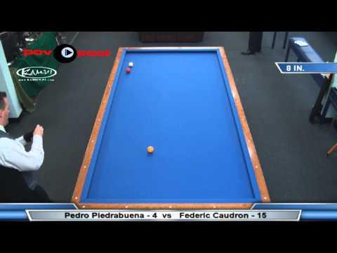 3C @ Million Dollar Billiards - Frederic Caudron vs Pedro Piedrabuena