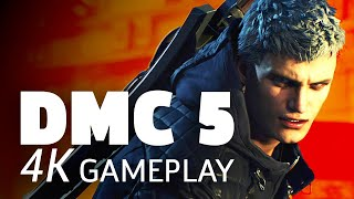 [4K/60] 15 Minutes of Devil May Cry 5's Stylish Gameplay