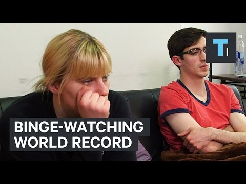 Binge-watching world record