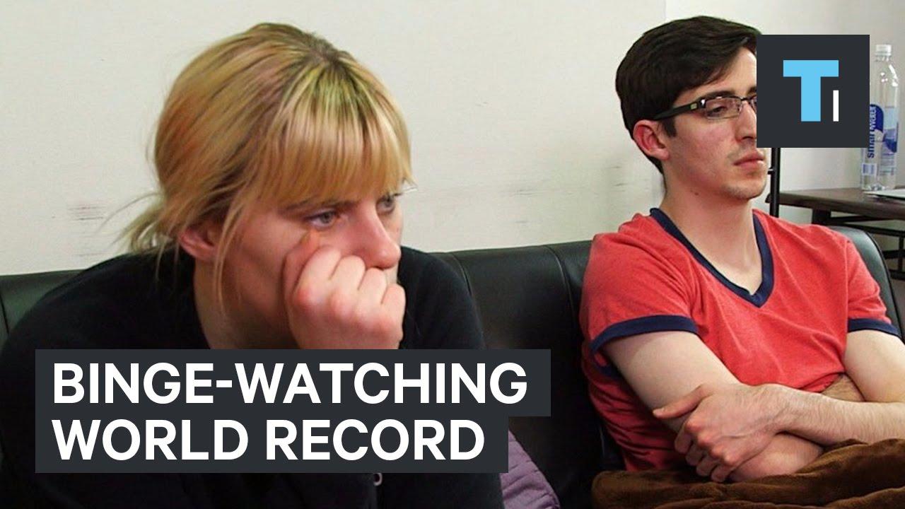 Binge-watching world record
