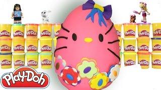 Hello Kitty Cicibiciler Shopkins   Sürpriz Yumurta Oyun Hamuru Videoları 10   Evcilik TV