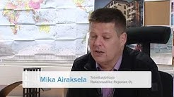 Aurinkoenergian suurtapahtuma 8.12.2011: Mika Airaksela, Rakennusliike Reponen Oy