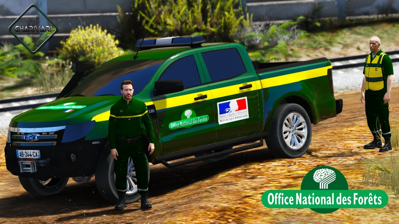 Gta 5 lspdfr onf ford ranger patrouille 19 faune etrange youtube - Office national des foret ...