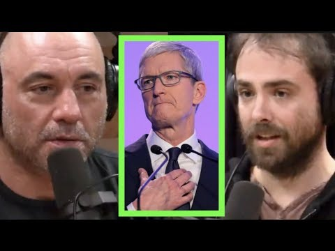 Tim Cook's Creepy Censorship Speech | Joe Rogan & Bill Ottman