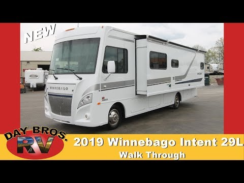 new-winnebago-intent-|-walk-through-|-outside-kitchen-|-class-a-gas-rv-for-sale-in-london,-ky
