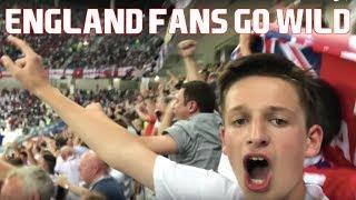 THE MOMENT HARRY KANE SCORES THE WINNER FOR ENGLAND VS TUNISIA