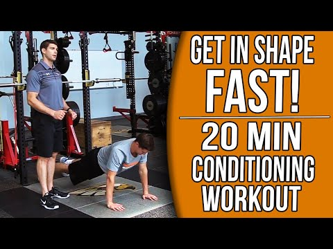 20 Min At-Home Basketball Conditioning Workout Get in Shape FAST!