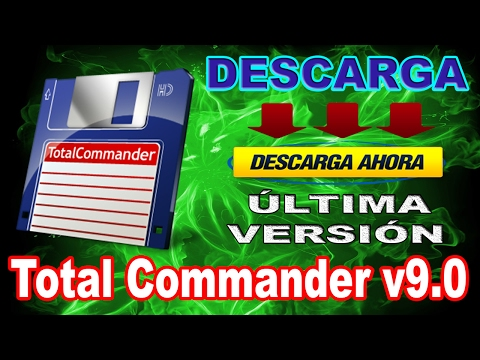 Descargar e instalar Total Commander 9.0 Full Español 2017
