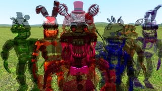 nightmare ghost animatronic halloween party gmod fnaf sandbox funny moments garry s mod