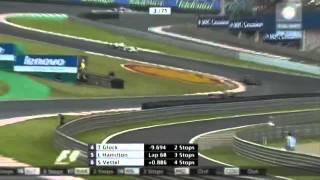 GP Brasil 2008 - Formula 1-  TV GLOBO