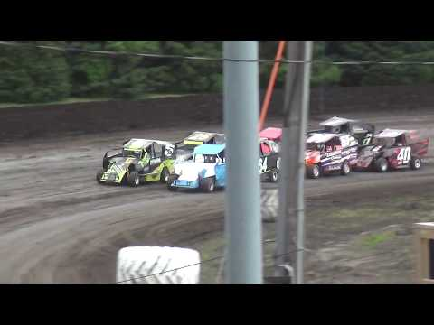 Xcel 600 Modified feature Benton County Speedway 6/9/19