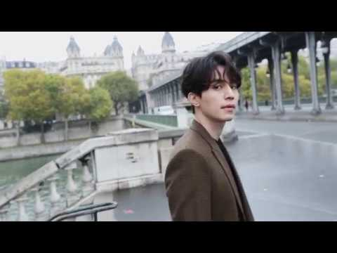 17.10.01 Lee Dong Wook's day in Paris with Givenchy/이동욱 & 지방시