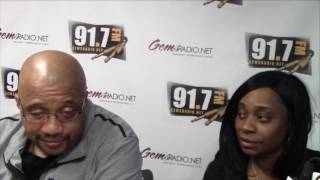 Alisha Lee & Doug Oliver show 5/16/2017 Interview Peter Gunz