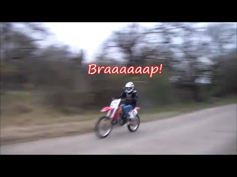 Honda Cr125 Top Speed Test Youtube