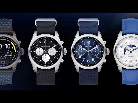 Montblanc SUMMIT 2 Smartwatch Tutorial