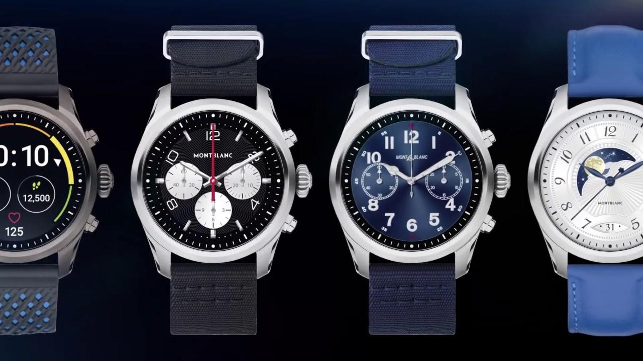 580bb04c434 Montblanc SUMMIT 2 Smartwatch Tutorial - YouTube