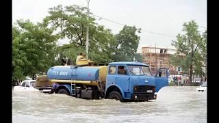Смерч и наводнение в Новороссийске