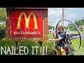 Flying To McDonald