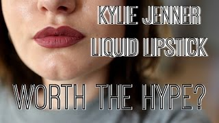 KYLIE JENNER LIQUID LIPSTICK! ll Worth the hype? #2
