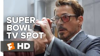 Captain America: Civil War Super Bowl TV SPOT (2016) - Robert Downey Jr. Movie HD