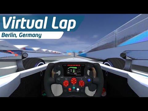 Berlin ePrix Virtual Lap w/ Daniel Abt!