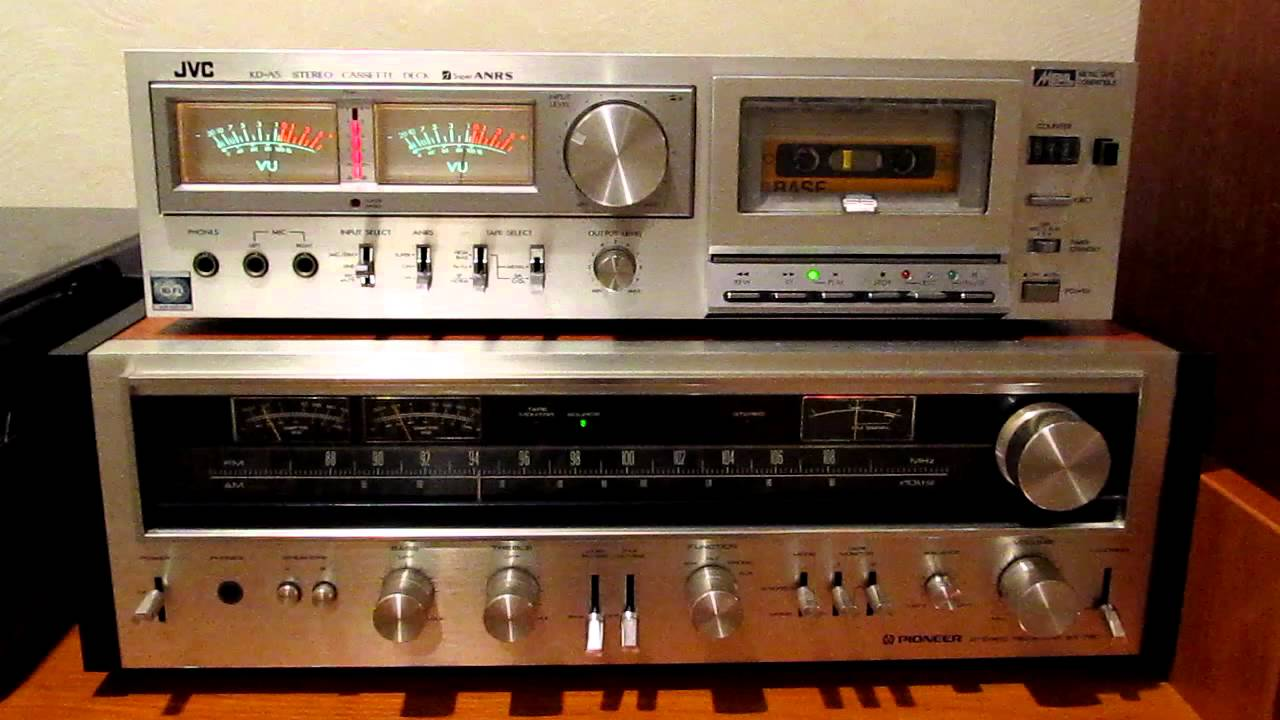 Vu Meter Show 03 Jvc Kd A5 Stereo Cassette Deck